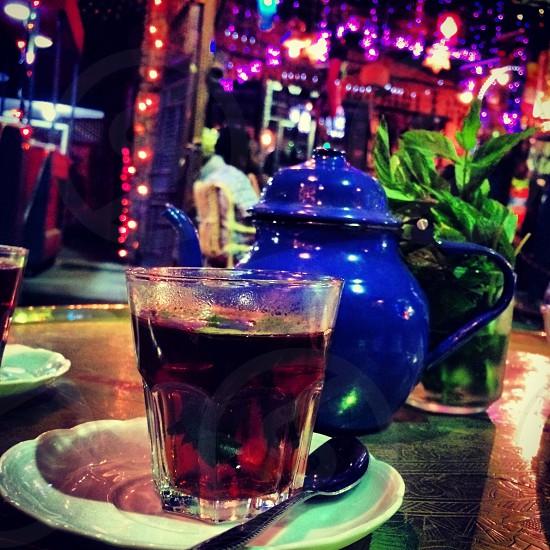 Egyptian tea photo