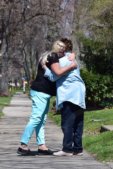 Mother's Day Hug for Mom photo