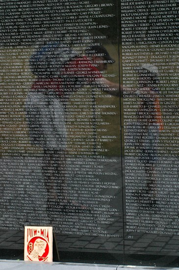 Vietnam Memorial. Washington D.C. photo