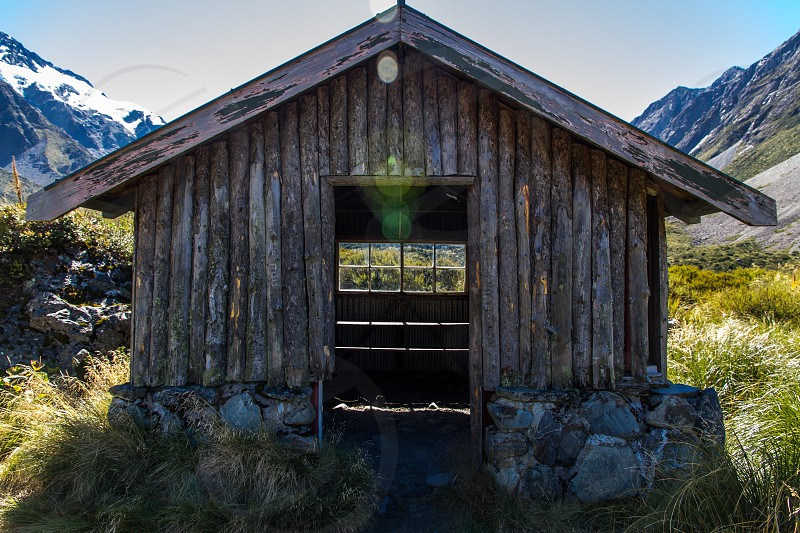 Abandon Farmhouse near Mt. Cook New Zealand photo