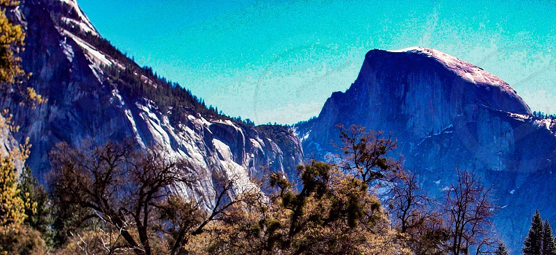 Half Dome - Yosemite Ca photo