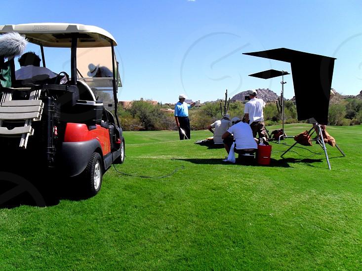 Golf Course Shoot on the Fairway photo