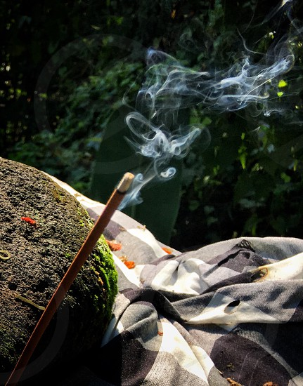 Incense incenses bali culturetraditional offerings  photo