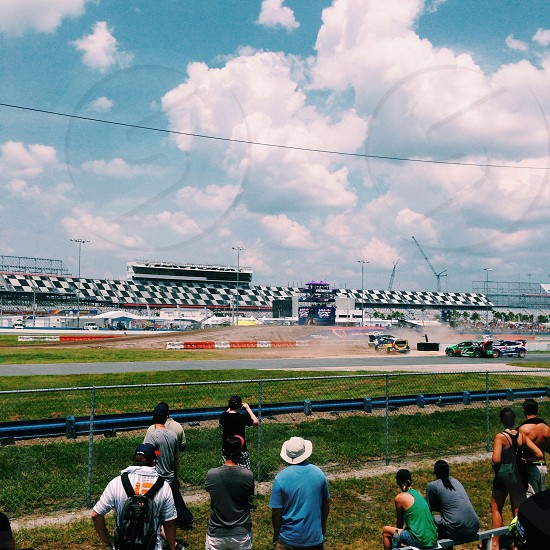 Daytona 500 Speedway in Daytona FL photo