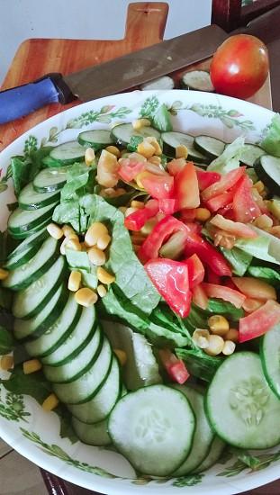 refreshing salad photo