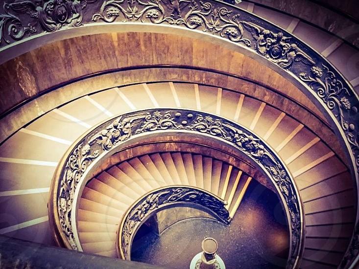 Vatican Spiral Staircase photo