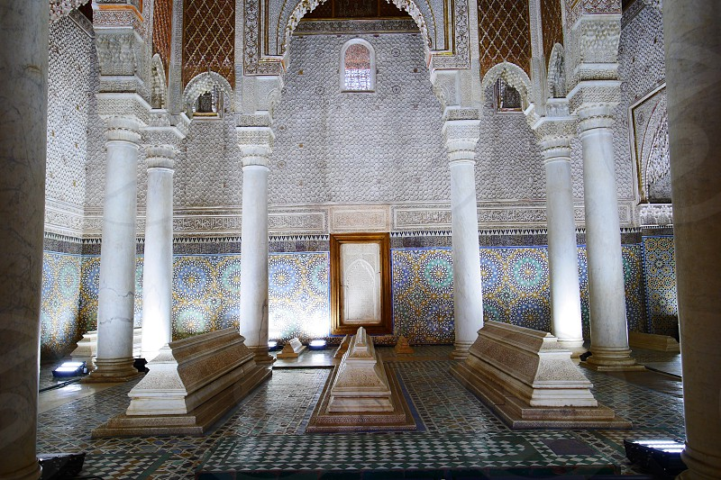 Tombeaux Saadiens - Marrakesh photo