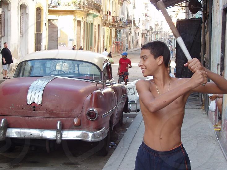 #Cuba #traveling #cars #family #holiday photo