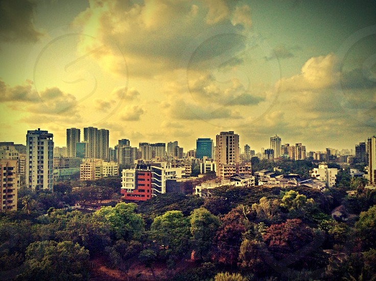 Mumbai skyline photo