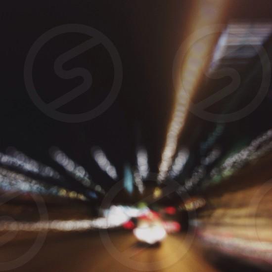 grey passenger vehicle on road photo