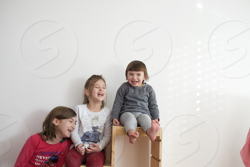 Children toddlers family smiles smiling photo