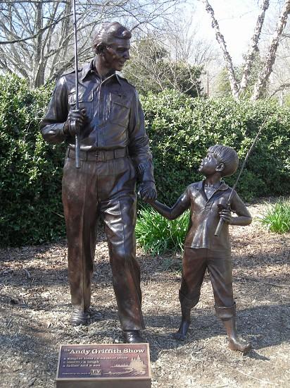 Statue in Pullen Park in RaleighNC photo