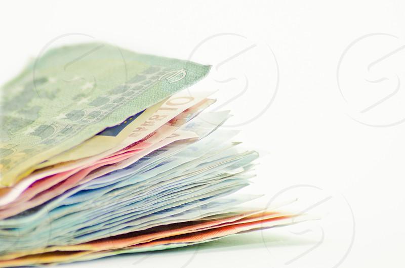 banknote bokeh photography photo