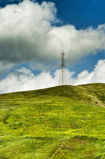 electrical tower photo