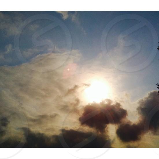Amazing skies of durban photo