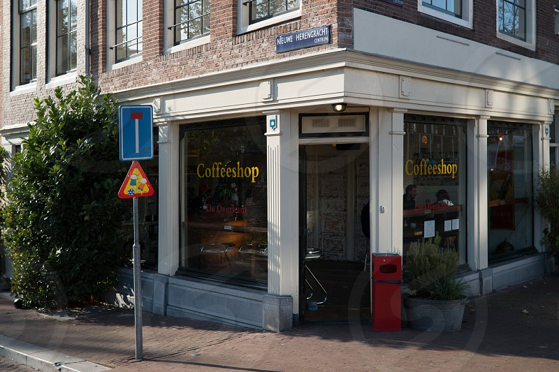 Coffee Shop in Amsterdam the Netherlands photo