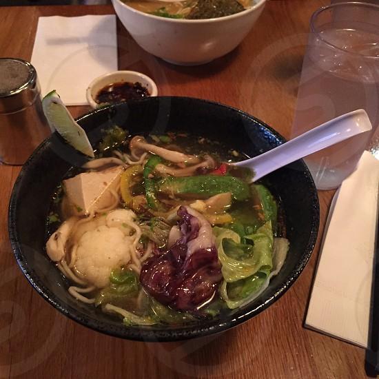 Veg Ramen Soup photo
