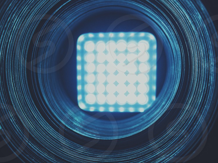 timplapse photography of square LED lights photo