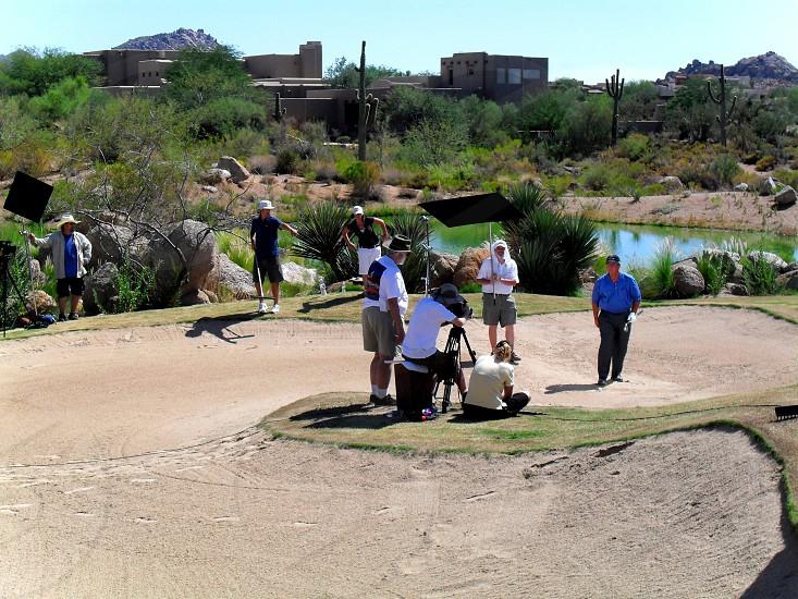 Shoot in the desert 2 photo