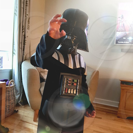 dress up Darth Vader star wars fun photo