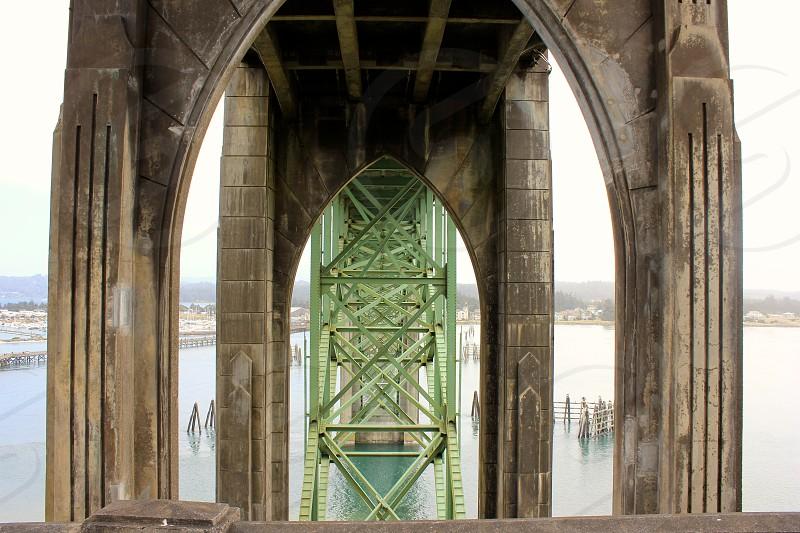 Bridge architecture Pacific Northwest alternative perspective photo