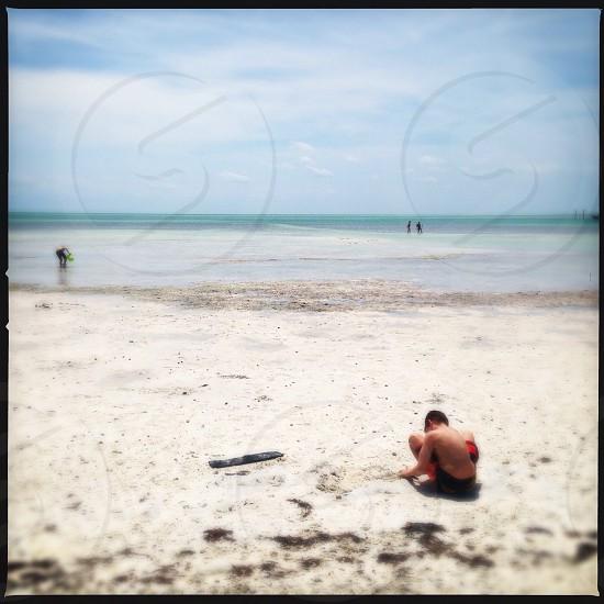Anne's beach in the keys Florida  photo