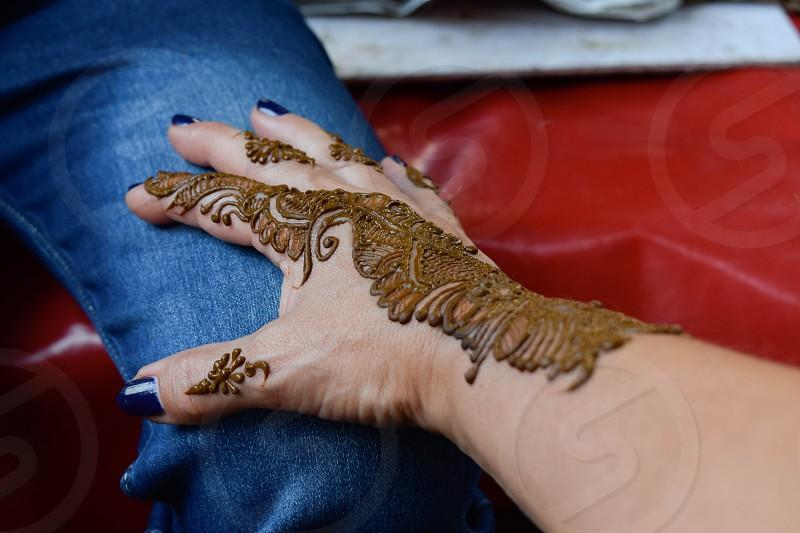 craft henna tattoo photo