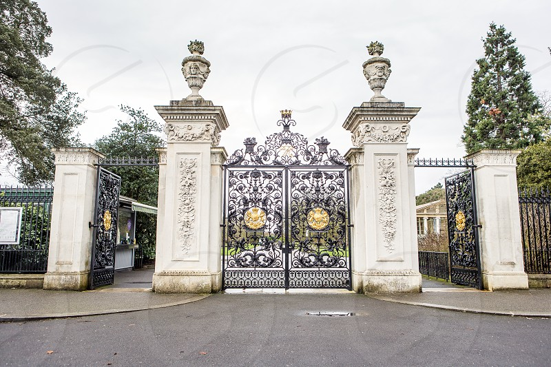 Kew Gardens Entrance Richmond London photo