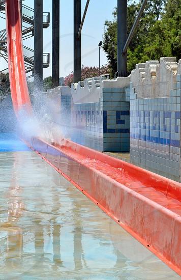 Giant Water slide photo