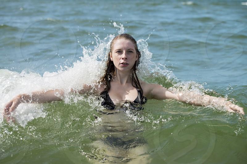 Ocean girl! photo