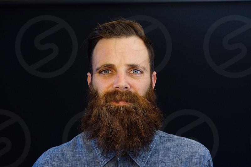 bearded man photo photo