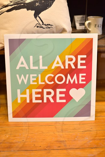 LGBT Friendly business all are welcome here photo