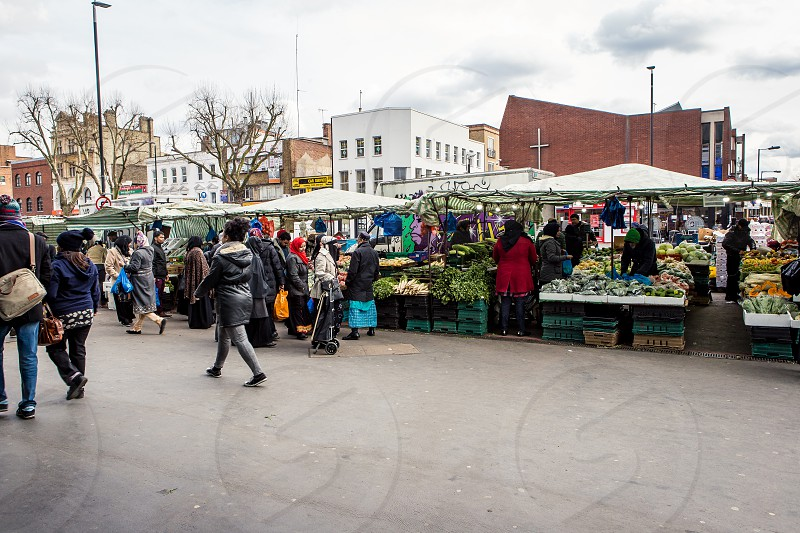 Whitechapel Market Whitechapel London photo