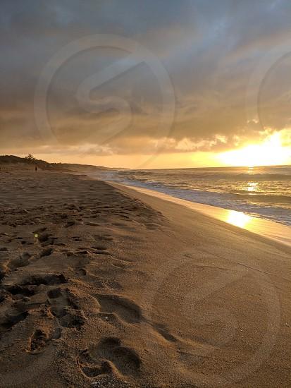 Kauai polihale beach island life... sunset photo