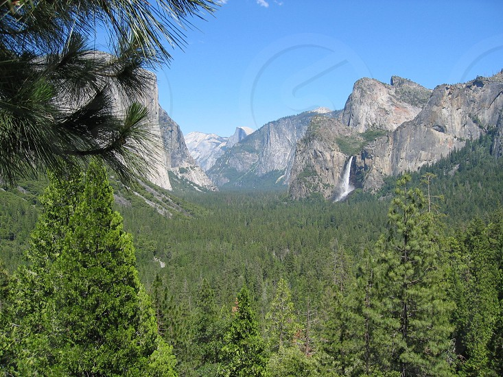 Yosemite Valley Half Dome photo