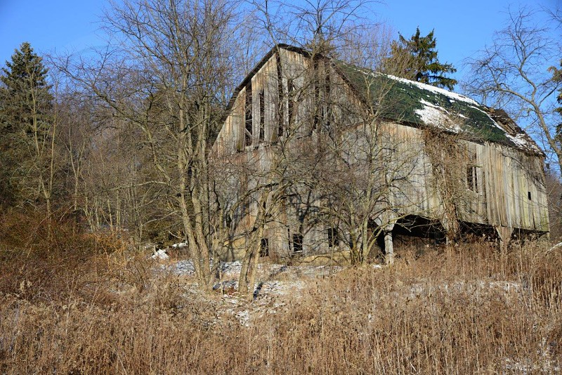 Barn in Western Pennsylvania that was recently torn down. photo