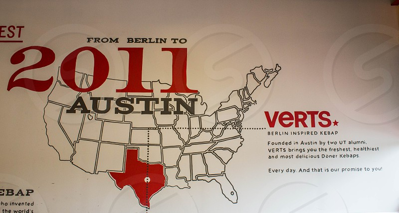 from berlin to austin 2011 verts map photo