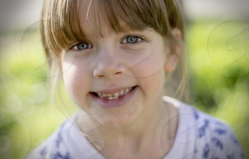 Girl child smile photo