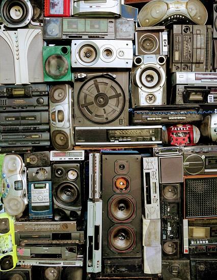 Audio Hi Fi speakers monitors music sound photo