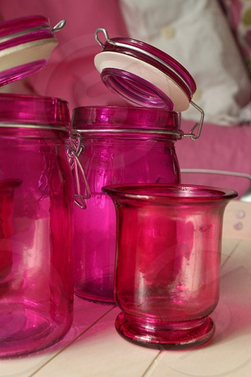 Pink pots photo