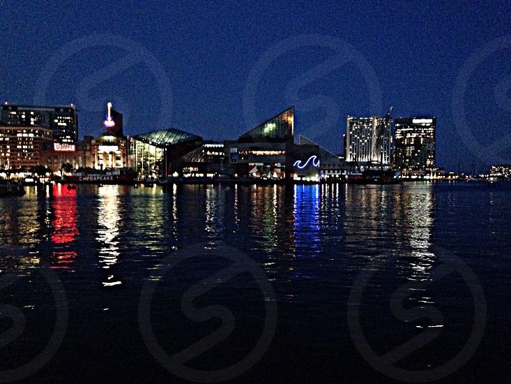 Summer Time Baltimore Harbor photo