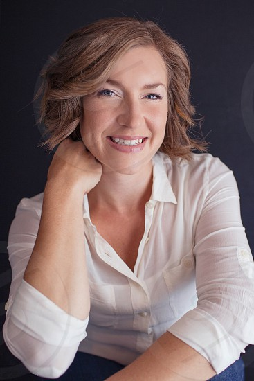 Female portrait female studio  photo