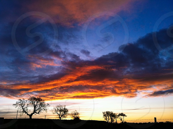 Sunrise over Leyburn Wensleydale  photo