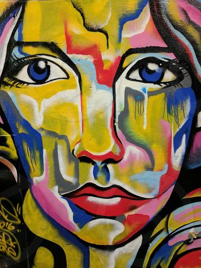 melbourne street art mural photo