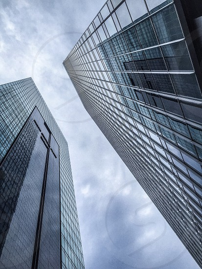 glassfront skyscarpers photo