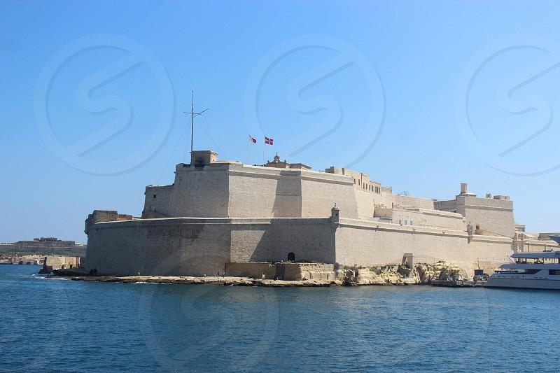 Fort St. Angelo Valletta Malta photo