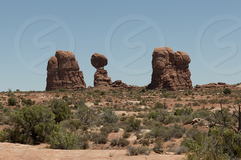 Balanced Rock at Arches National Park - Moab photo