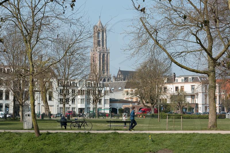 Dom Tower of Utrecht the Netherlands. photo