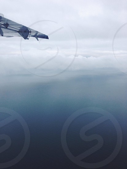 white cloud view photo