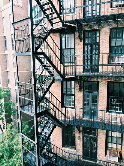 New York City - West Village - Fire escapes  photo